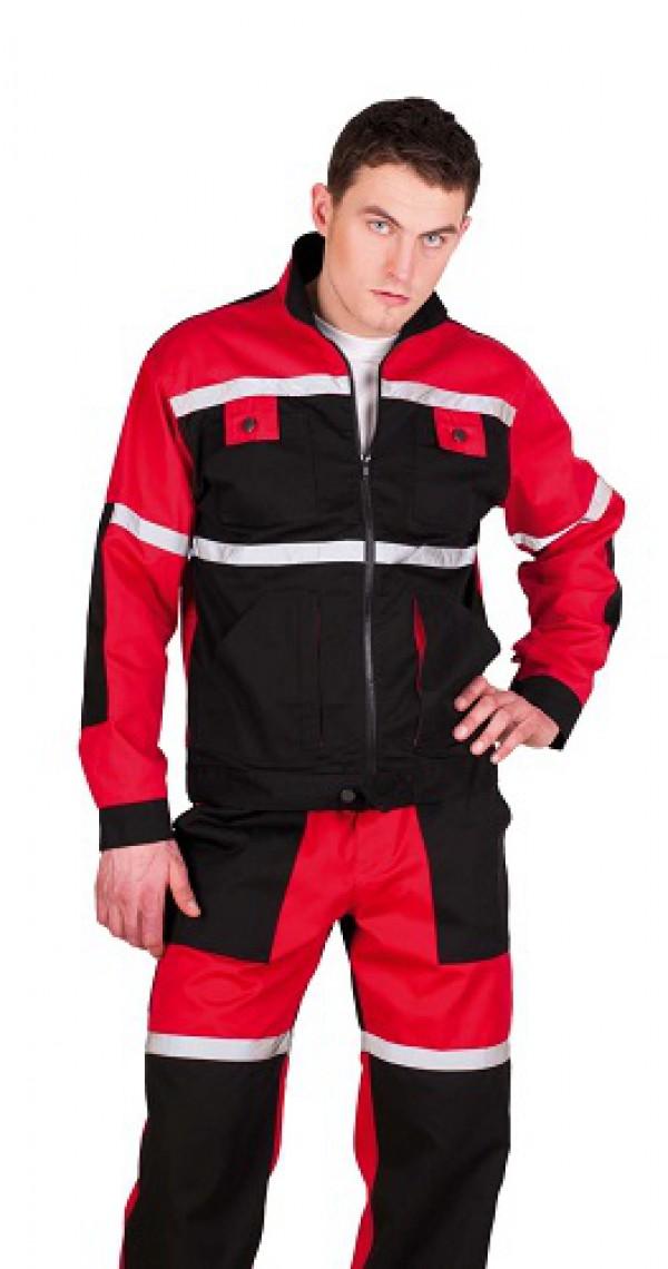 TAYRA kabát piros