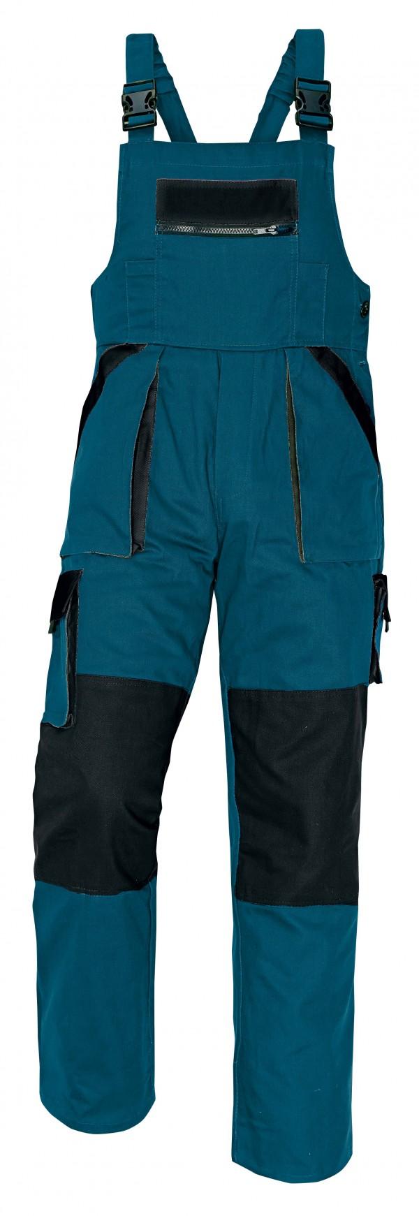 MAX téli kantáros nadrág zöld/fekete
