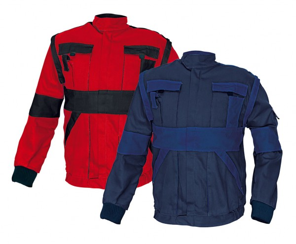 MAX kabát 260 g/m2 kék/sárga