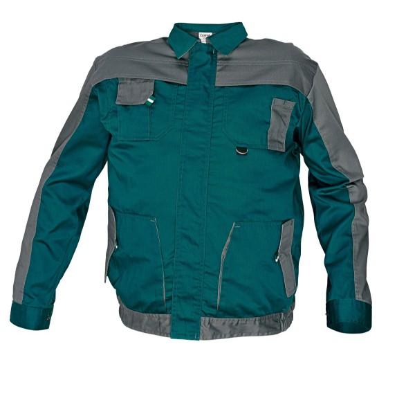 MAX EVO kabát zöld/szürke