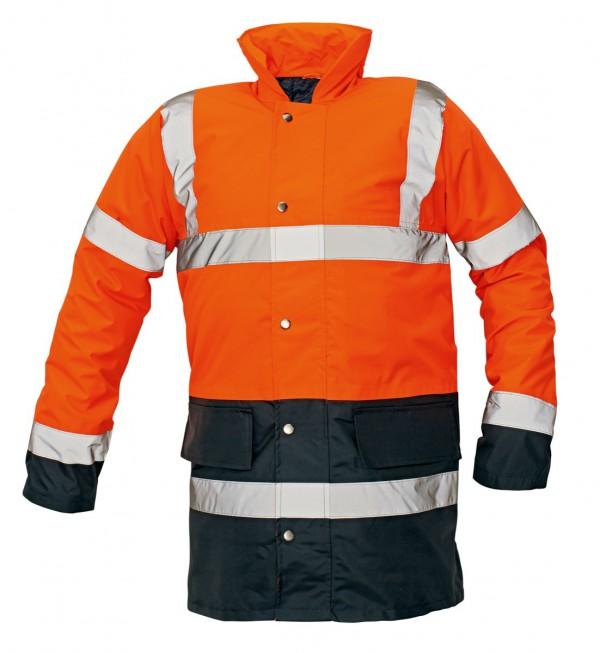 SEFTON kabát HV narancs/navy