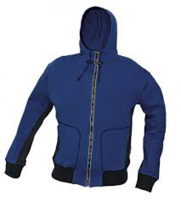 STANMORE pulóver kapucnival kék