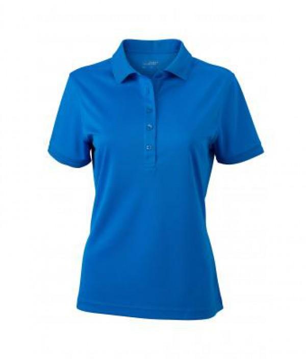 James & Nicholson kék színű női galléros póló