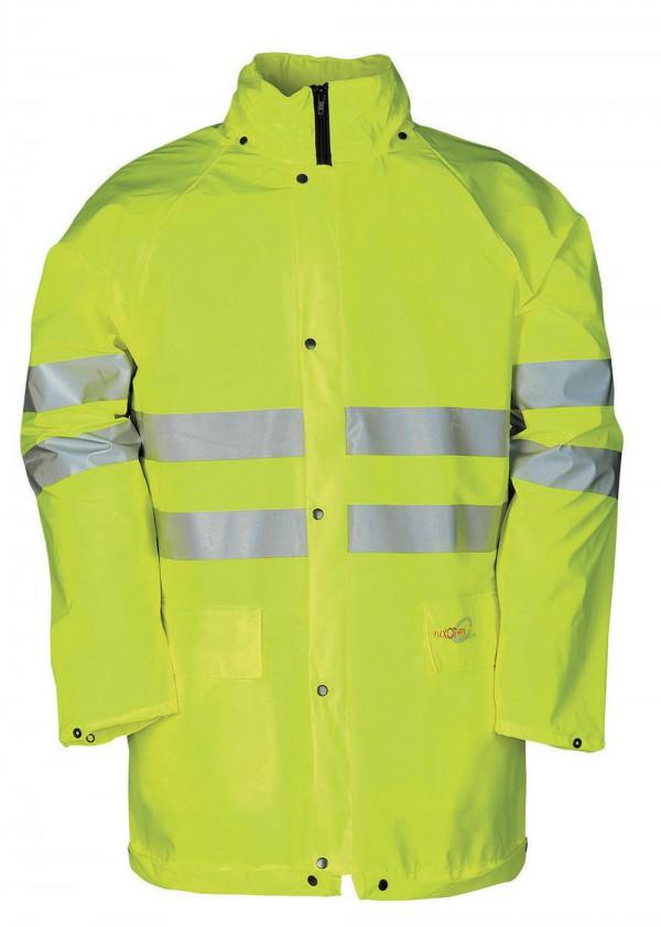 KASSEL HV vízálló kabát sárga