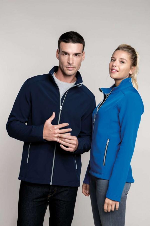 Női 2 rétegű softshell kabát
