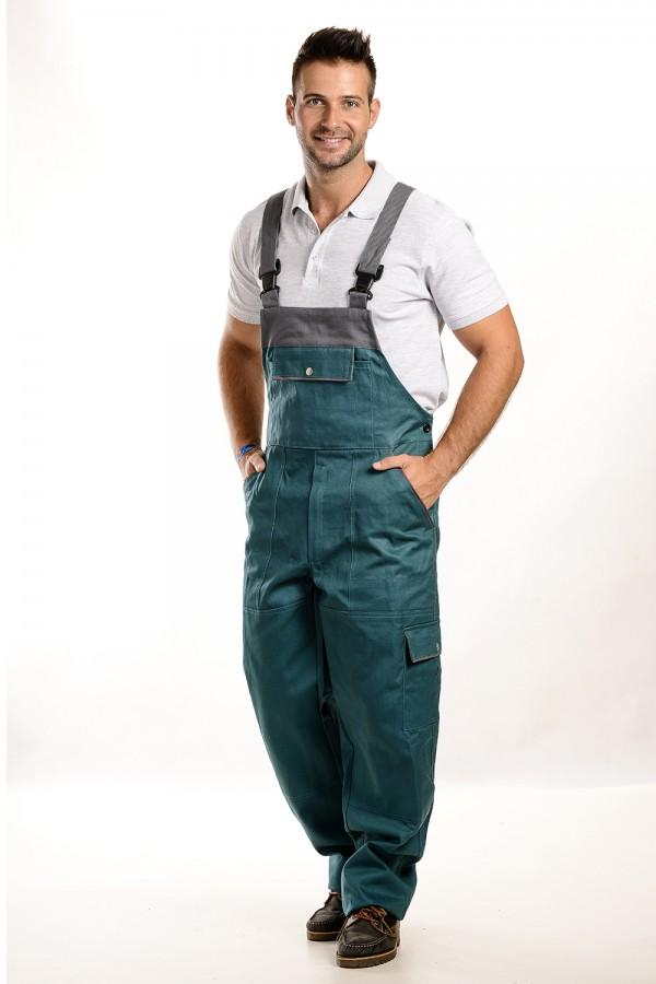férfi slim fit kantáros nadrág