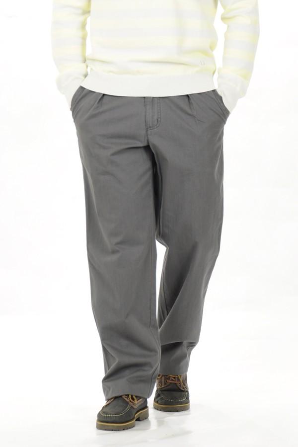 Férfi szürke vászon nadrág