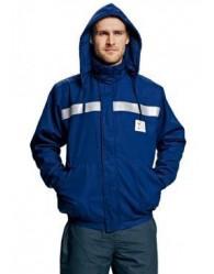 TUNK AS+FR téli kabát royal kék