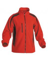 TENREC polár kabát piros/fekete