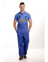 Kék-szürke színű férfi kantáros nadrág, 250g