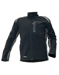 ALLYN NEW softshell kabát fekete