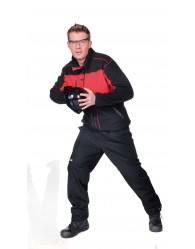 DURANGO férfi polár kabá piros/fekete