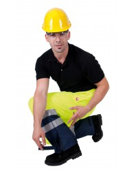 GLADSTONE nadrág sárga-kék