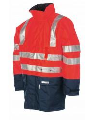 WINSELER kabát fényvisszaverő c piros