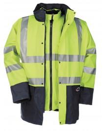 MARIANIS HV téli kabát sárga/navy