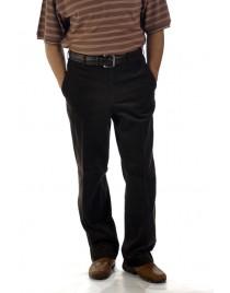 Férfi barna kordbársony nadrág