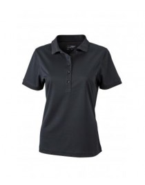 James & Nicholson fekete színű női galléros póló