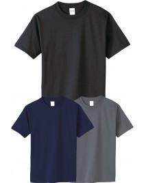 3 db férfi rövid ujjú kereknyakú póló