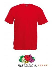 Fruit of the Loom Póló Piros