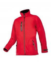 PULCO softshell kabát piros
