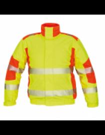 TRILA pilóta dzseki sárga/narancssárga