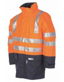 WINSELER kabát fényvisszaverő csíkokka