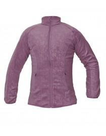 YOWIE női polár kabát fény lila