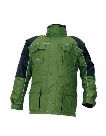 STANMORE téli kabát zöld/fekete