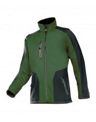TORREON softshell kabát zöld/fekete
