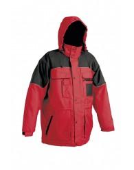 ULTIMO kabát piros-fekete
