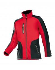 TORREON softshell kabát piros/fekete