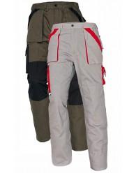 MAX nadrág 260 g/m2 fehér/szürke