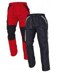 MAX nadrág 260 g/m2 piros/fekete