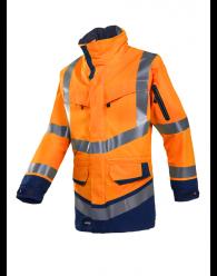 WINDSOR HV kabát narancssárga/navy