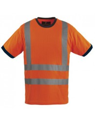 Láthatósági Póló Narancssárga