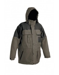 ULTIMO kabát fekete-szürke