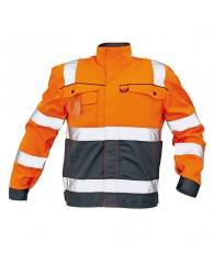 COLYTON k HiVis kabát narancs-szürke