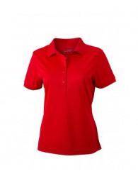 James & Nicholson piros női galléros póló