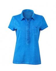 James & Nicholson női tengerkék színű galléros póló