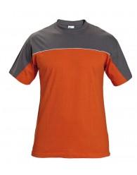 DESMAN trikó szürke/narancssárga