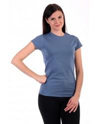 Női Póló rövid ujjú póló kék melé