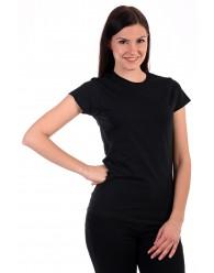 Női Póló rövid ujjú póló fekete