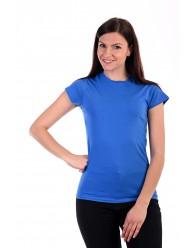 Női Póló rövid ujjú póló kék