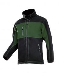 DURANGO férfi polár kabát zöld/fekete