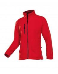 MERIDA polár kabát piros