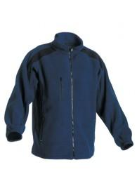 TENREC polár kabát sötétkék/fekete