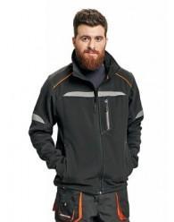 EMERTON LIGHT SOFTSHELL kabát fekete