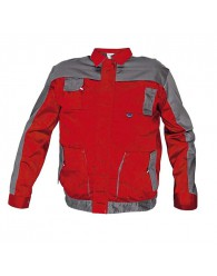 MAX EVO kabát piros/szürke