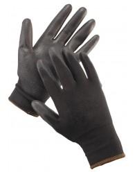 FF HS-04-003 kesztyű PE/PU fekete
