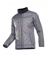 GERMO kabát szürke/fekete